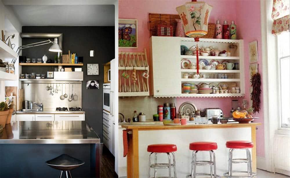 Цвета применяемые для маленьких кухонь яркость и контрасты идеи дизайна кухни