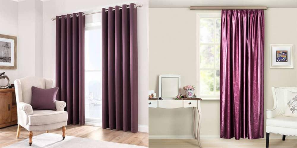 Ягодные тона насещеные цвета для гостиной шторы в гостиную