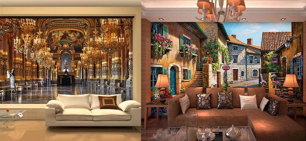 Трехмерные изображения для увеличения пространства интерьер квартиры хрущевки