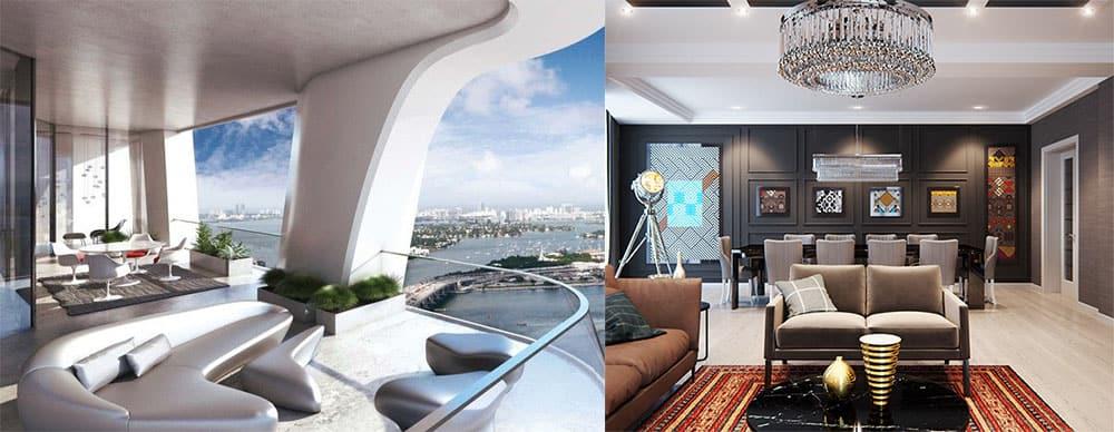 Самые трендовые решения и стили для апартаментов Апартаменты 2018