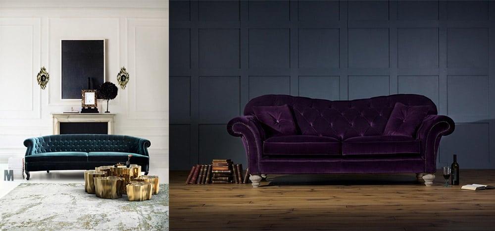 Трендовые варианты диванов цвета формы и текстуры Диваны 2018
