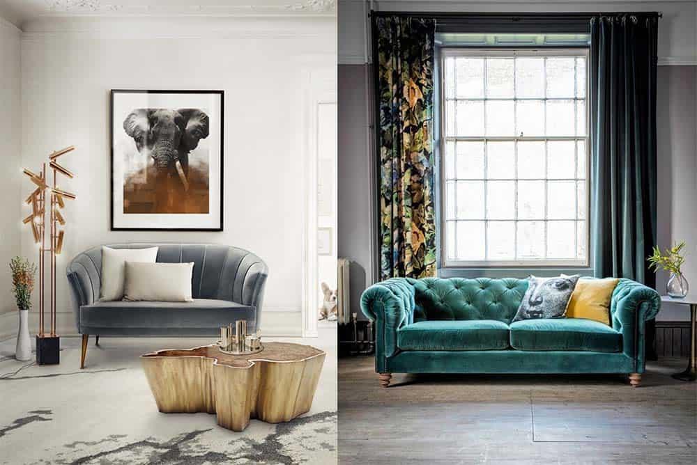 Прекрасные новейшие тренды фото и примеры грамотного ансамбля с дизайном комнаты Диваны 2018