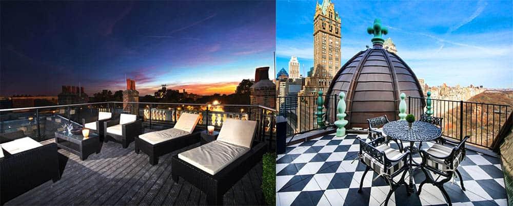 Нетривиальный оригинальный дизайн террасы дополнит шик апартаментов Апартаменты 2018