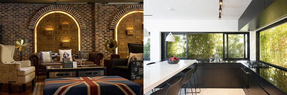 Интересные варианты декора и отделки подбор мебели Дизайн частного дома 2018