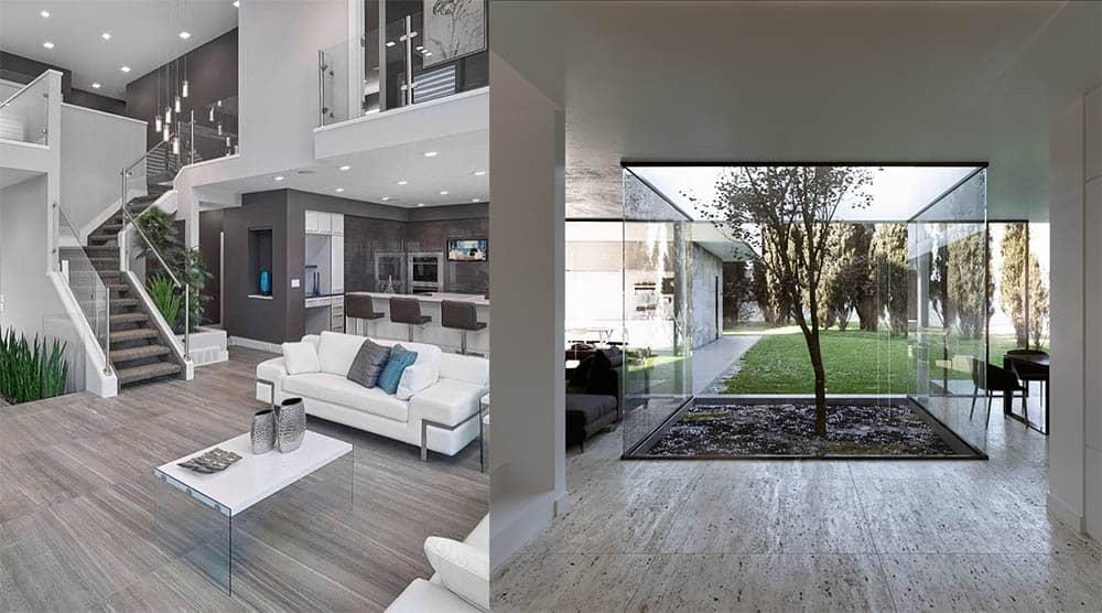 Креативные и трендовые идеи для интерьера частного дома Дизайн частного дома 2018