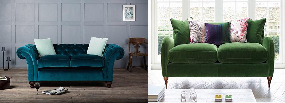 Варианты зеленых диванов с отзвуками английского стиля Диваны 2018