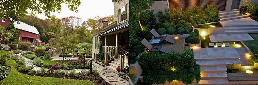 Ландшафтный дизайн 2018 7 трендов для волшебного сада основные тренды 2018 современный сад