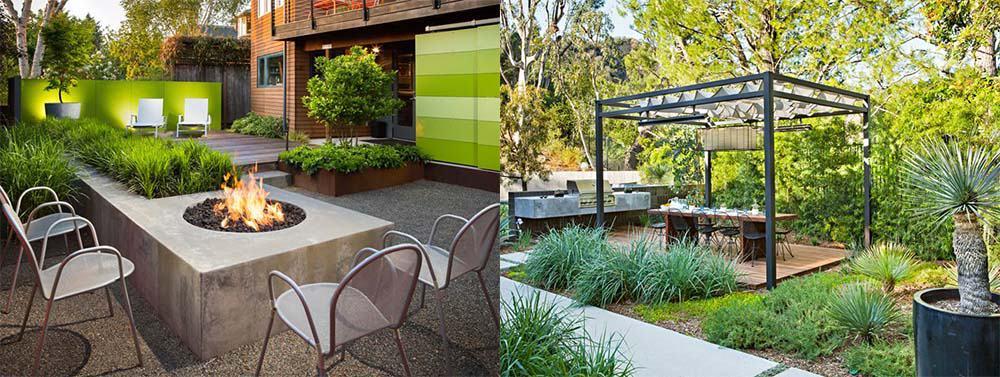 Маленький сад компактные способы организации пространства садового участка Ландшафтный дизайн 2018