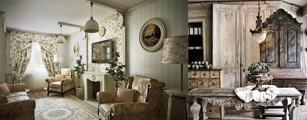 Мебель подходящая для стиля Прованс 2018