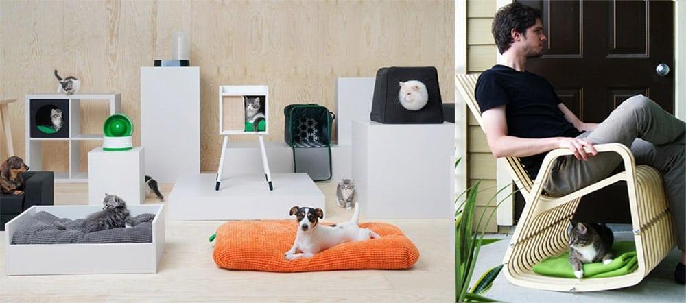 Мебель для животных, для животных и людей, совместная мебель Интерьер 2018