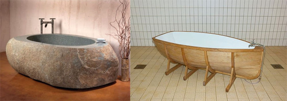Необычные ванны в стиле эко и фэнтези Дизайн ванны 2018