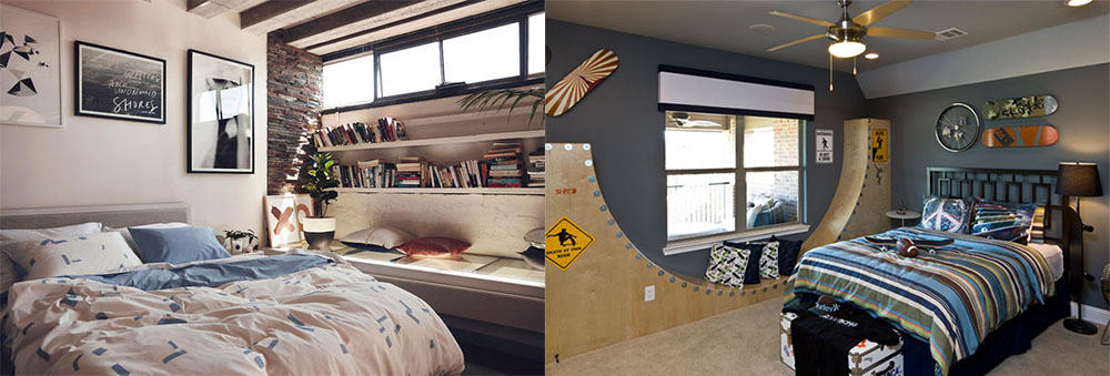 Неформальный декор нотки протеста даже при самой треадиционной мебели спальни для жизни идеи дизайна спальни 2018