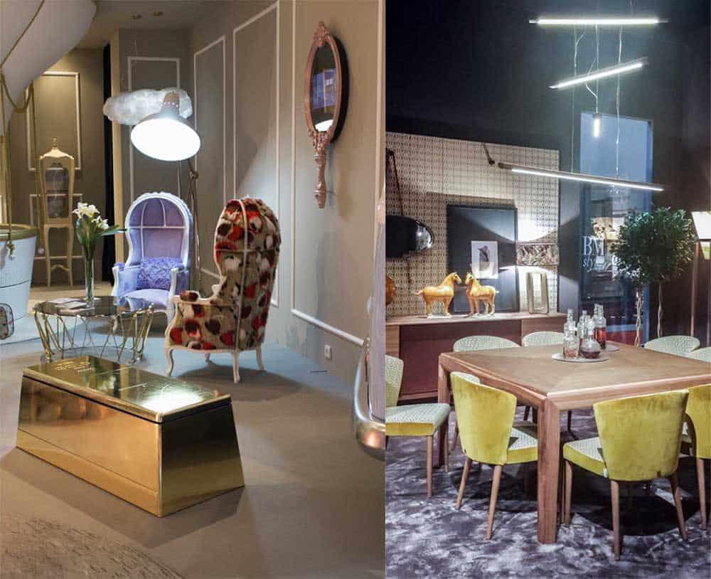 Рабочее освещение для обеденного стола и кресла для чтения освещение в интерьере