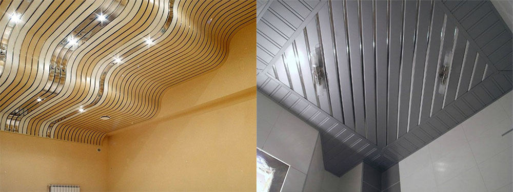 Реечные потолки оптимальный вариант для кихни и ванной современный дизайн потолков
