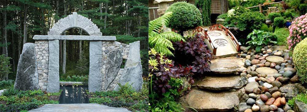 Что можно соорудить своими руками как самостоятельно украсить сад Ландшафтный дизайн 2018