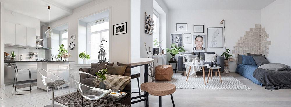 Скандинавский стиль - самое универсальное и эстетичное решение для апартаментов, для тех, кто всегда спешит Апартаменты 2018