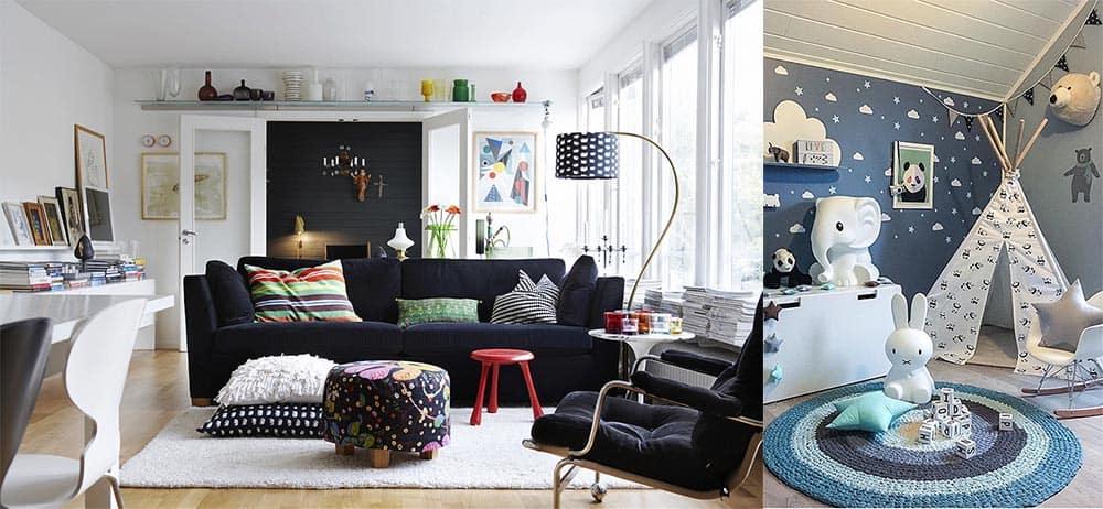 Скандинавский стиль для интерьера частного дома самое трендовое и практичное решение современные дома 2018