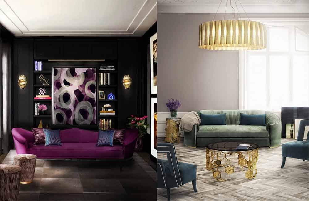 Смешанные цвета в интерьере модные тренды Цвет в интерьере 2018