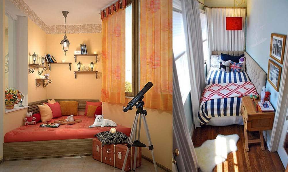 Спальня в лоджии интересные варианты оформления дизайн лоджии 2018