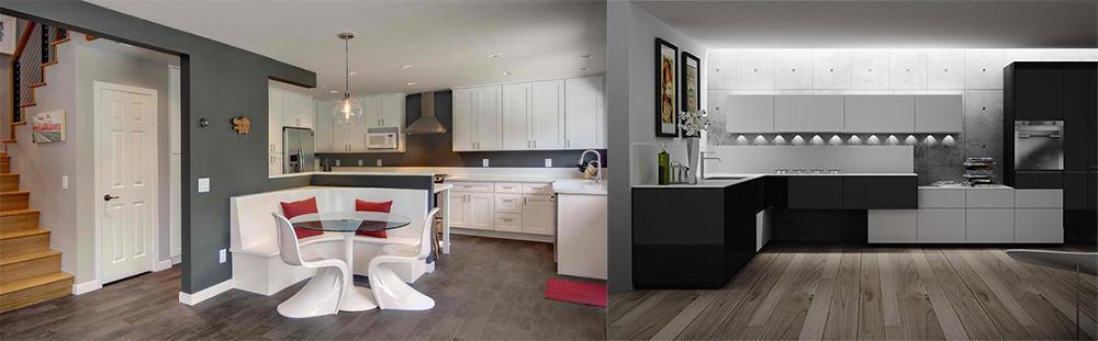 Угловой кухонный гарнитур интересные трендовые варианты углового гарнитура на кухне дизайн кухонных гарнитуров 2018