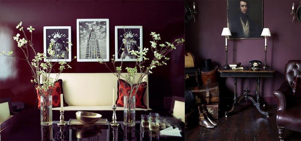 Ягодные цвета насыщенные и поэтичные тренд для любителей темных цветов модные цвета в интерьере