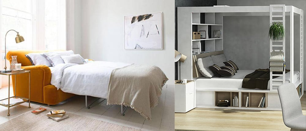 Диван-кровати и кровати с выдвижными ящиками Кровати 2020