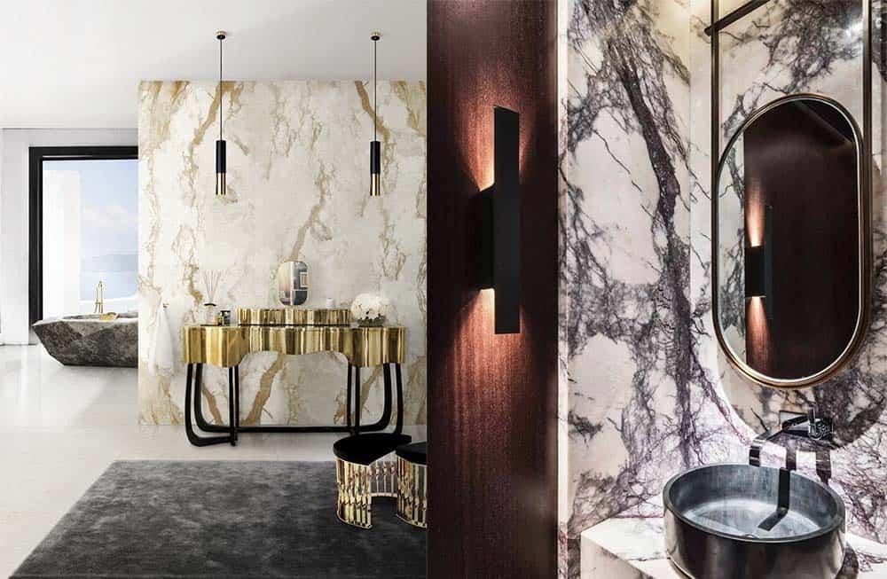 Лучшие идеи и тренды от лучших брендов мебели для ванных комнат Идеи ванной комнаты 2018