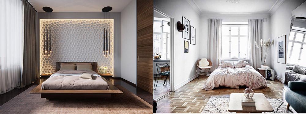 Идеи дизайна спальни 2018 лучщие идеи для самостоятельного создания дизайна интерьера от мастеров