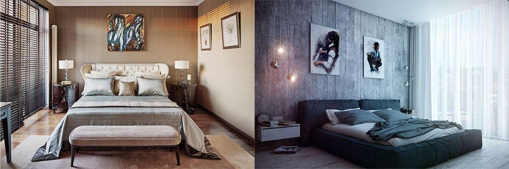 Отличные Идеи дизайна спальни 2018 от дизайнеров для планирования цветовой схемы и освещения