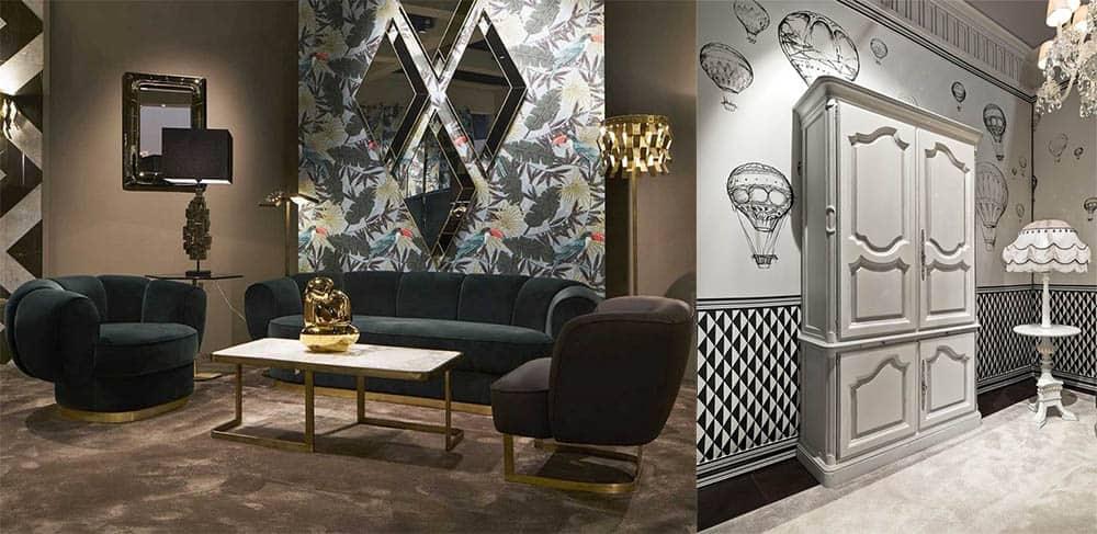 Комбинирование обоев в одной комнате примеры удачных комбинаций Ремонт квартиры 2018
