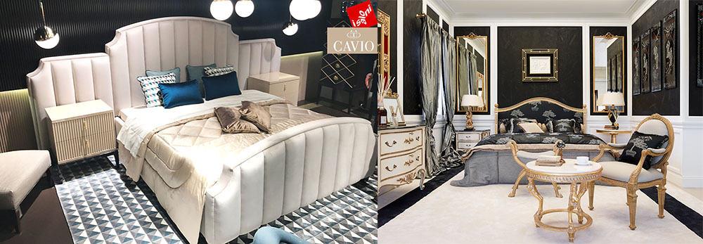 Мягкость обилие мягкой мебели Современные спальни 2018