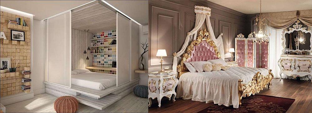 Освещение и его влияние на цвета в комнате Идеи дизайна спальни 2018
