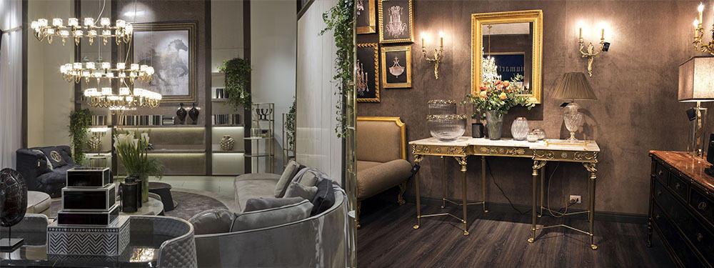 Оттенки металлов в дизайне интерьера гостиной, интересные стильные идеи Идеи интерьера гостиной 2018