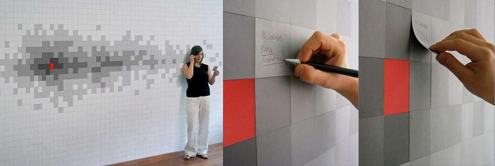 Пиксель-арт при помощи слоев со стикерами Дизайн обоев 2018