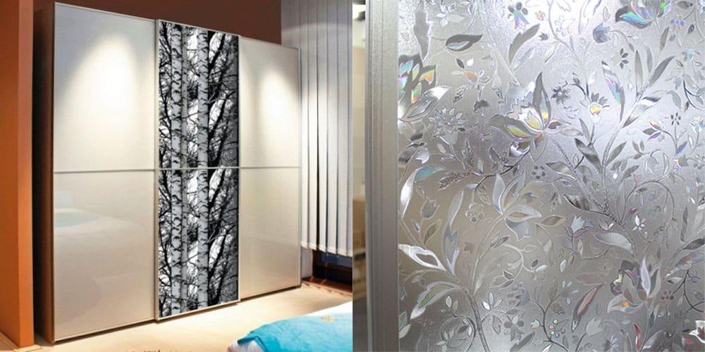Декоративная пленка для дизайна интерьера применение на различных поверхностях Ремонт квартиры 2018