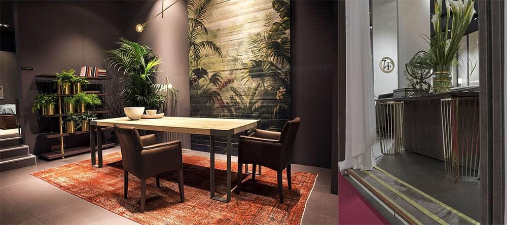 Растения и биофильный дизайна, небольшой оазис в гостиной Идеи интерьера гостиной 2018