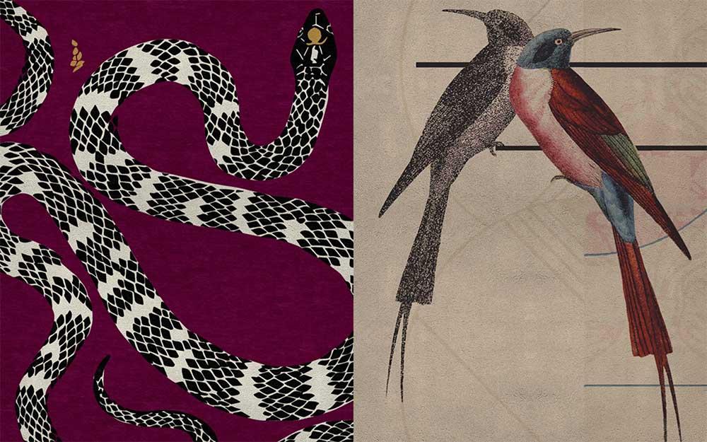 Рисунки и принты для ковров, вдохновленные ар деко Ковры 2018
