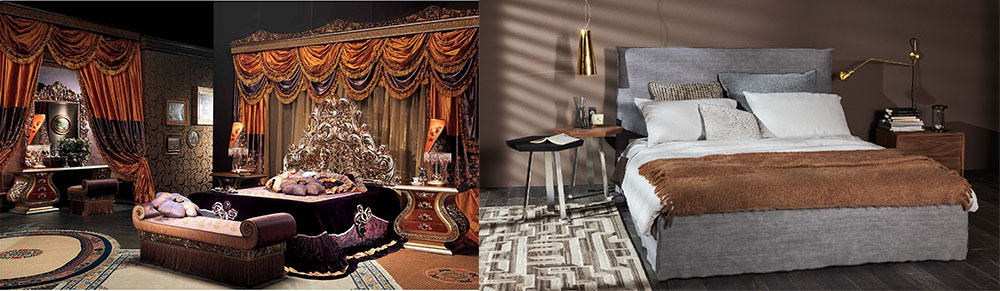 Супер-тенденции со всемирно известных выставок мебели от лучших брендов Современные спальни 2018