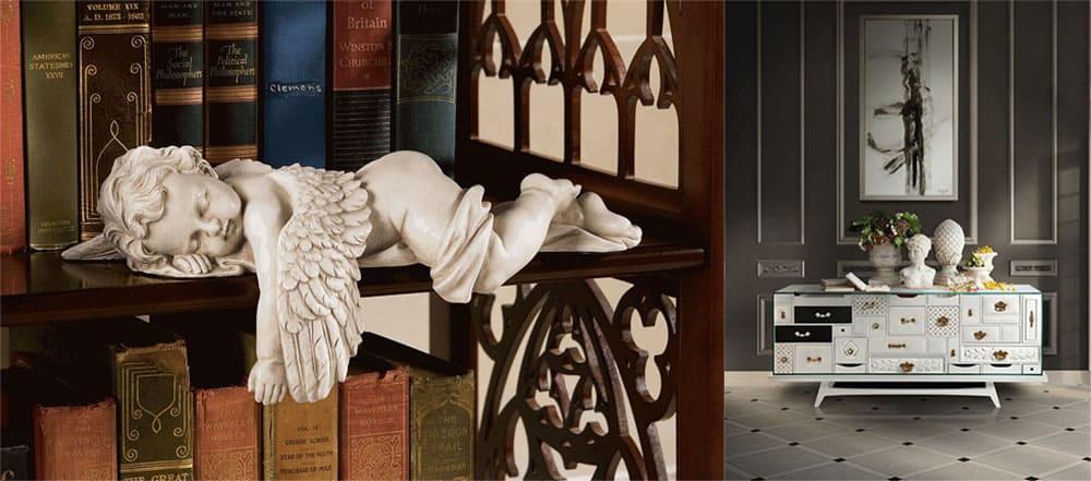 Статуи для декора современного интерьера Идеи интерьера 2018