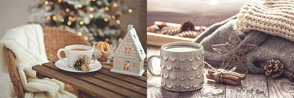 Хюгге - датский уют и концепция счастья чашки сервировка стола Декор 2018