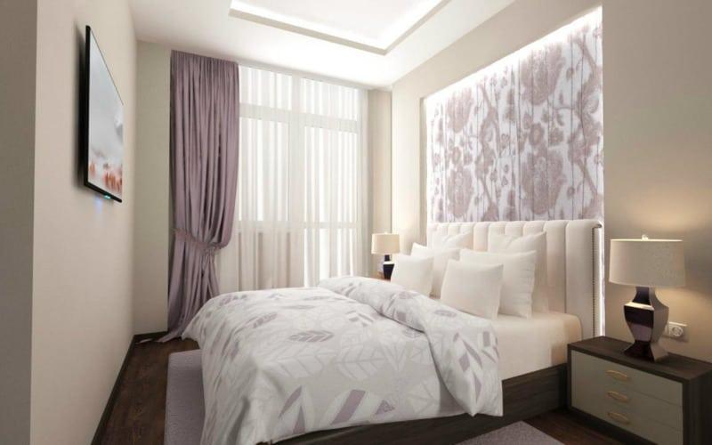 спальня-бела