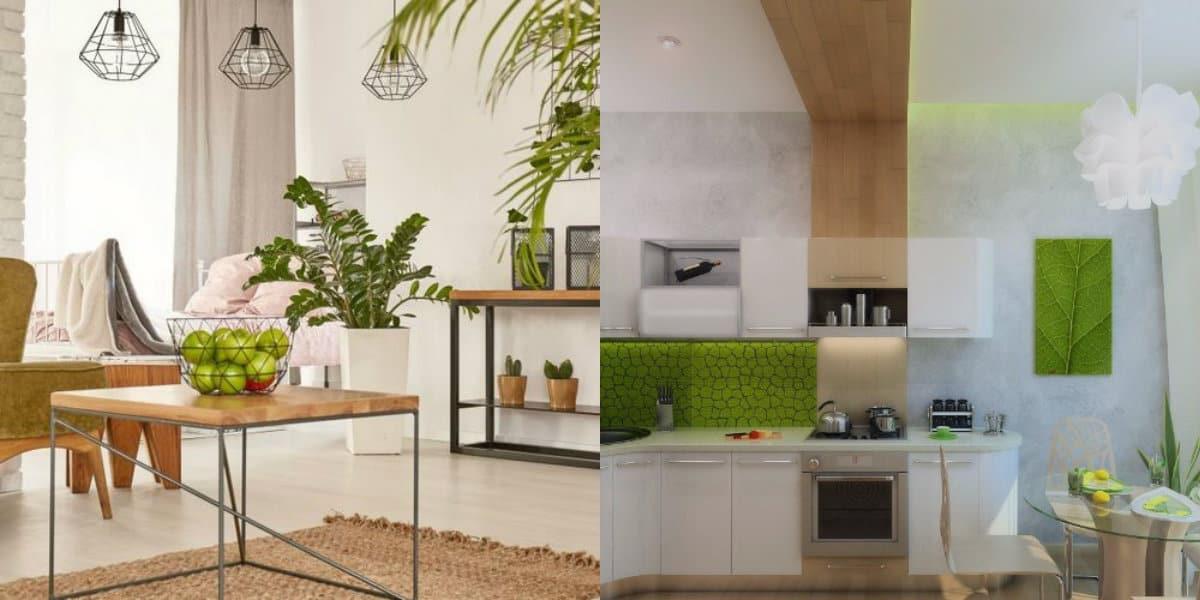 Интерьер квартиры 2018: экостиль