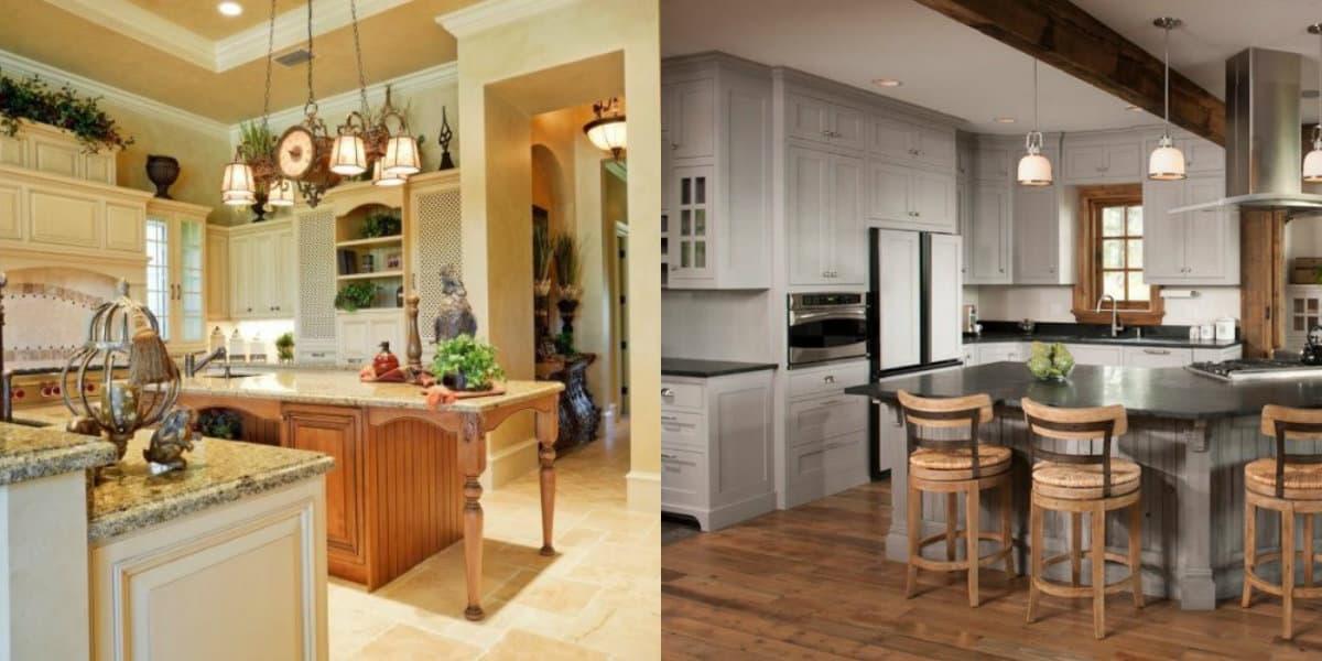 Кухня в стиле Кантри: дизайн с чертами прованса