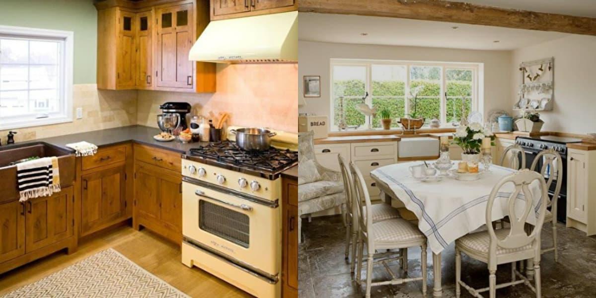 Кухня в стиле Кантри: простые решения