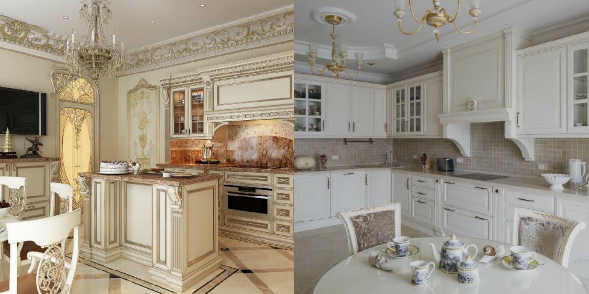 Кухня в классическом стиле : роскошный дизайн