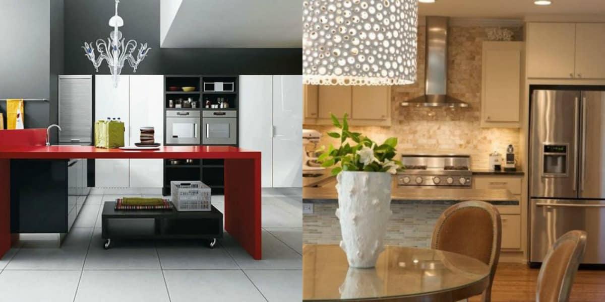 Кухня в современном стиле: встроенная техника