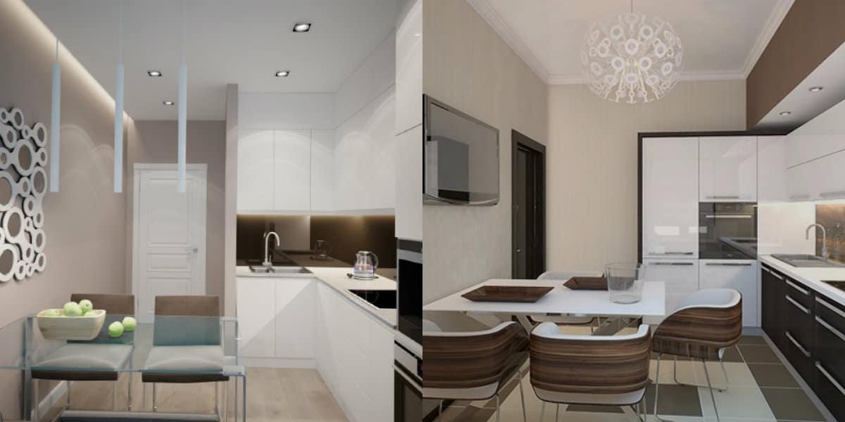 Кухня в современном стиле: модерн