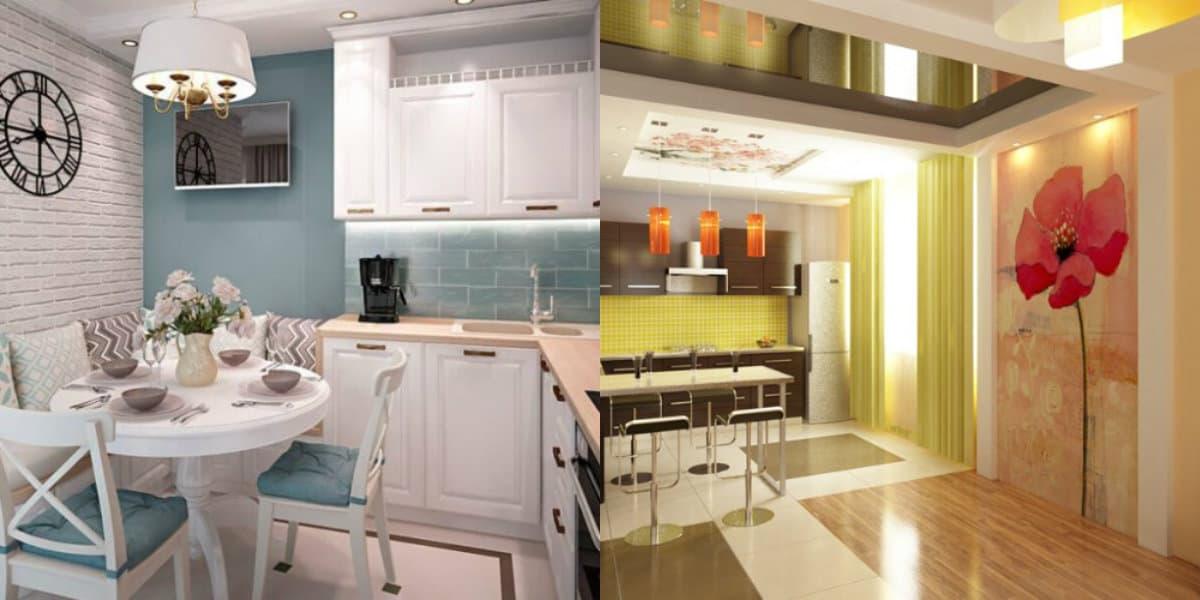Кухня в современном стиле: декоративные элементы