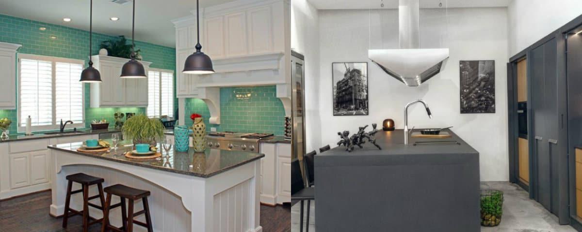 Кухня в современном стиле: цветовые решения