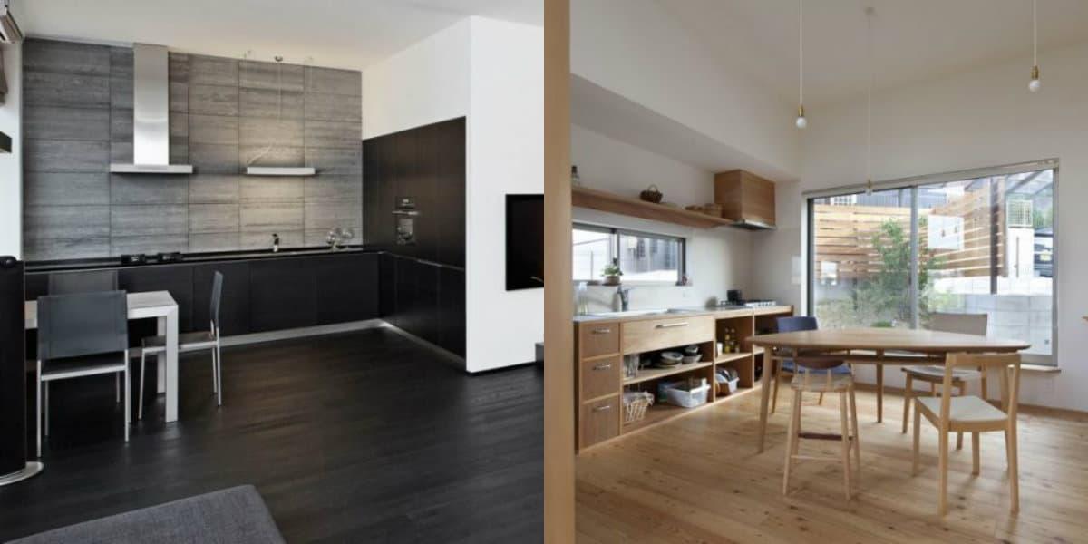 Кухня в стиле минимализм: отсутствие декора
